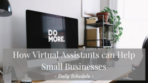 Ideas for Outsourcing Your Daily Schedule Online